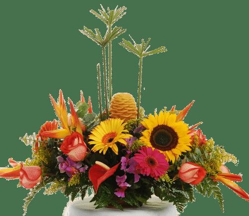 Arreglo floral, centro de mesa, eventos decoración Bogotá