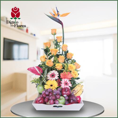 Flores y frutas Genetrix Natura