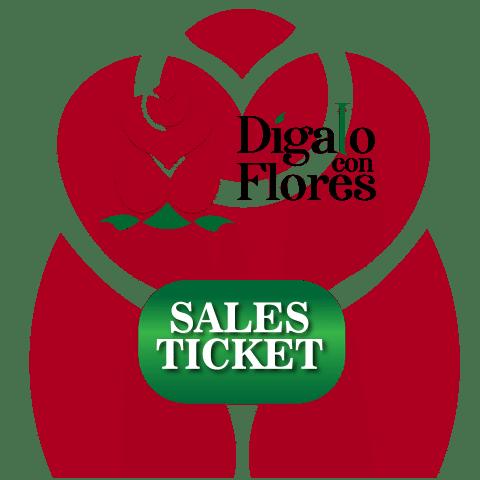 Dígalo con Flores Sales Ticket
