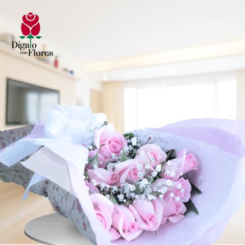 Rosas Rosadas para conquistar un corazón que ame los buenos detalles