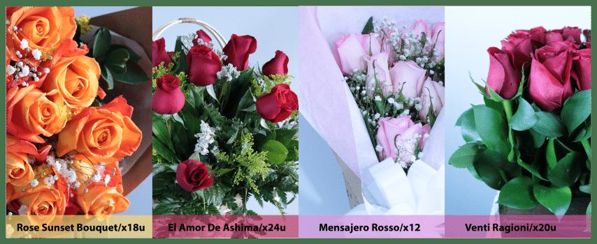amor y amistad rosas